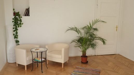 Klidová místnost pro individuální či skupinovou práci